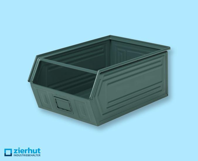 Sichtlagerbehälter, Schäfer-Lager-fix 1, Typ: 14/7-1, metall-lackiert