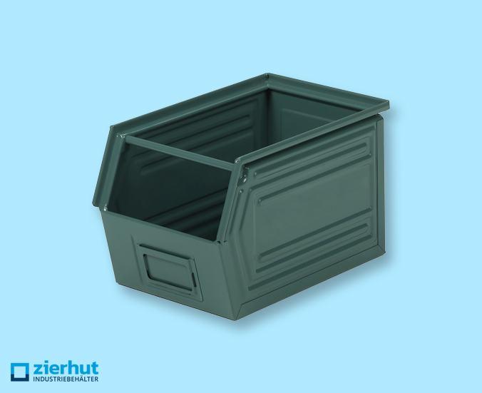 Sichtlagerbehälter, Schäfer-Lager-fix 3, Typ: 14/7-3, lackiert