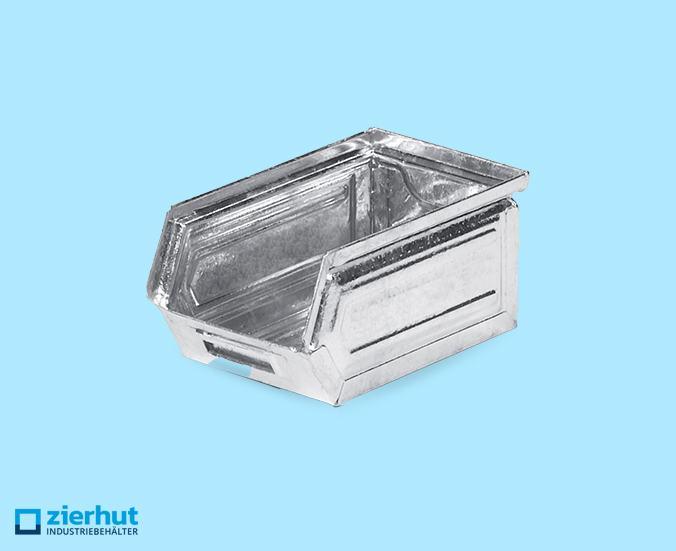 Sichtlagerkasten, Schäfer-Lager-Fix 5, Typ:14/7-5, metall-verzinkt