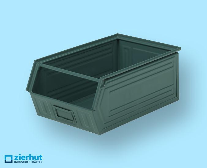 Sichtlagerbehälter, Schäfer-Lager-Fix 2, Typ: 14/7-2, metall-lackiert