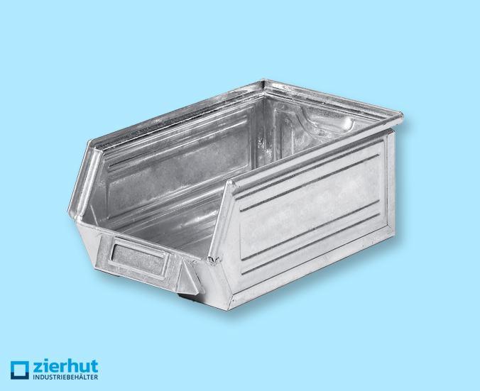 Sichtlagerbehälter, Schäfer-Lager-Fix 3Z, Typ: 14/7-3Z, metall – verzinkt