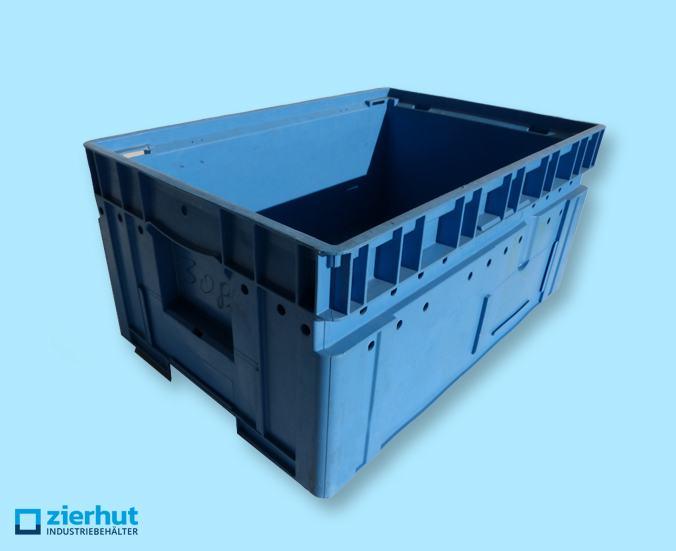 C-KLT 6428-2, mit Wasserablauflöcher, blau, gebraucht