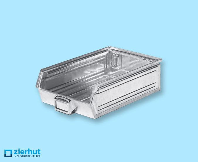 Sichtlagerkasten Lochkästen, Schäfer-Lager-Fix 2H,  Typ:14/7-2H, metall – verzinkt