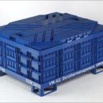 Gebindeabdeckung A1210 VW, blau-Foto5