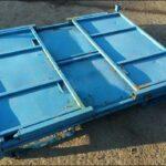 Faltbare-Stahlbehälter-blau-gebraucht-Foto2
