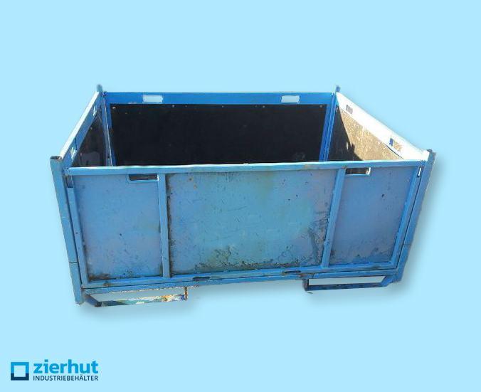 Falt-Stahlbehälter
