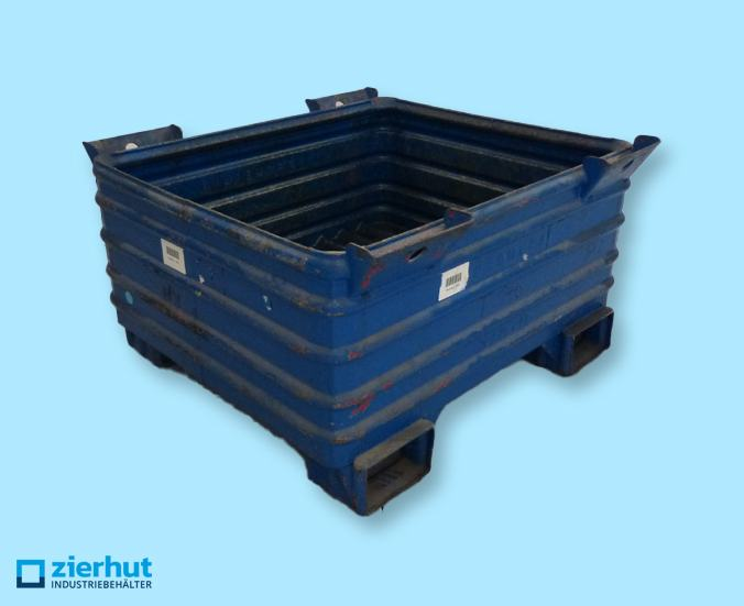 Stahlbehälter, Typ:-0002
