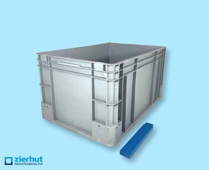 Euronormbehälter 600x400x320 Plus Kunststoff grau