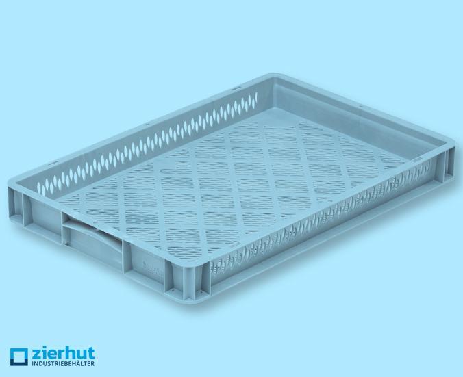Euronormbehälter 600x400x70 Standard, durchbrochen