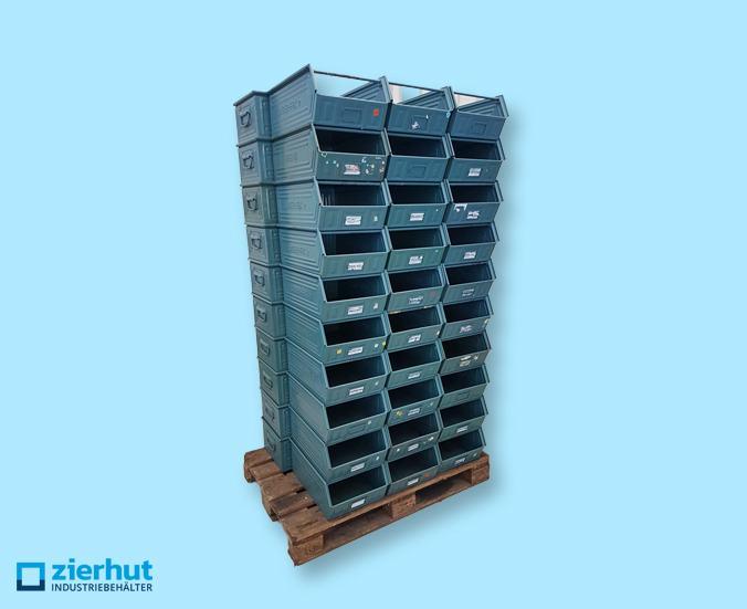 1 Posten (50 Stk.) Schäferkisten Typ 14/7-2 metall – lackiert