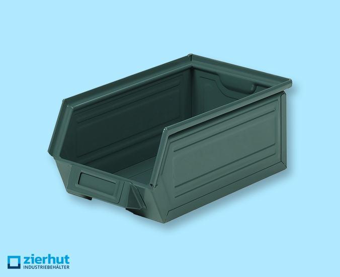 Sichtlagerbehälter, Schäfer-Lager-Fix 3Z, Typ: 14/7-3Z, metall – lackiert