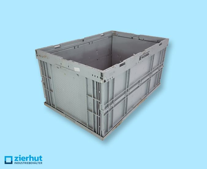 Falt-Kleinladungsträger 6410 grau F-KLT Stapelbox Klappbox