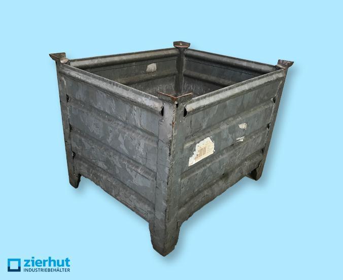 Transport- und Stapelbehälter, verzinkt
