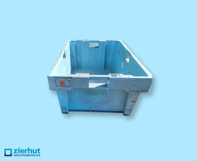 Sonderposten gelochter Drehstapelbehälter 80x60x35cm