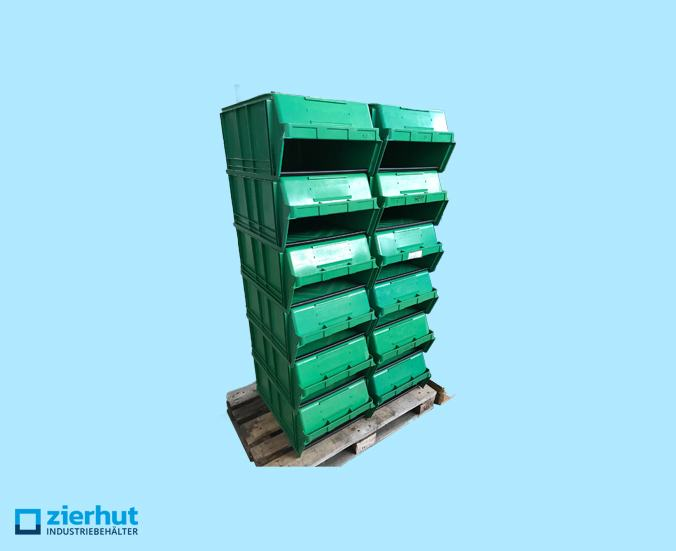 Posten: 52x 14/7-1 PE, Sichtlagerbehälter, Stapelbehälter