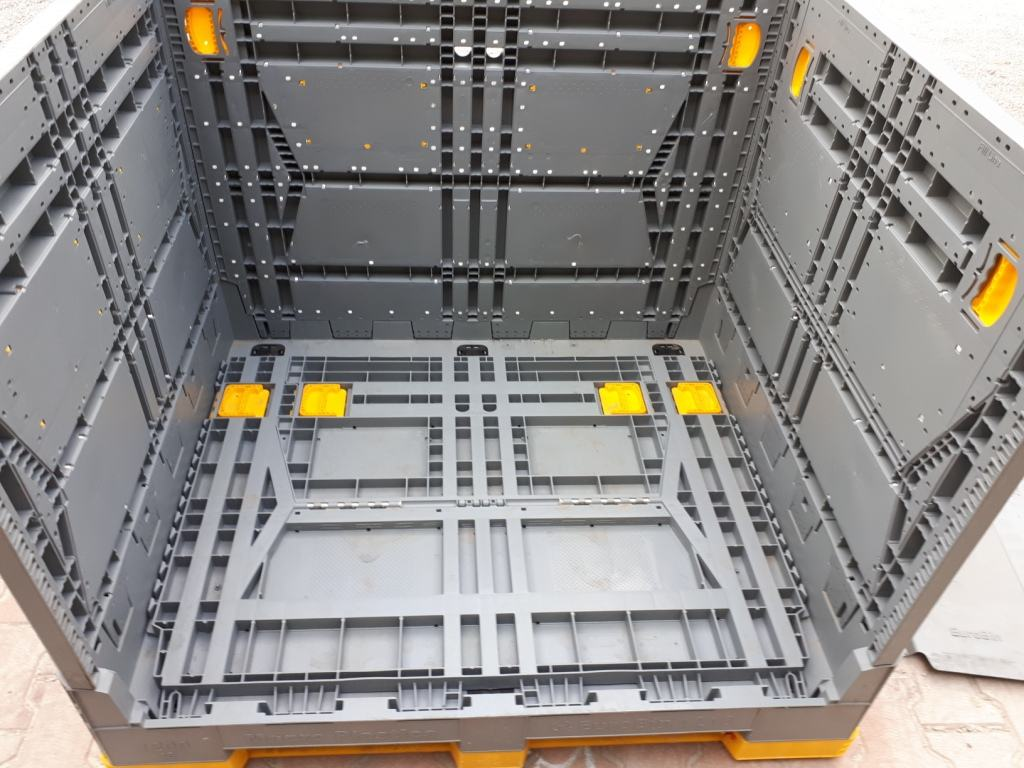 massiver Faltladungsträger-Typ: Eurobin 1200x1000x980 mm