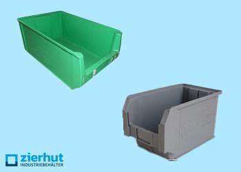 Sichtlagerkästen aus Kunststoff